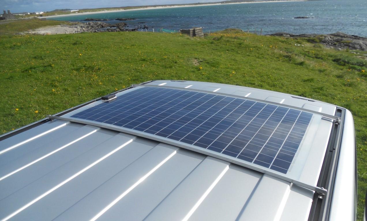 Solar Camper Solutions Vw T5 T6 Bolt On Solar Kit