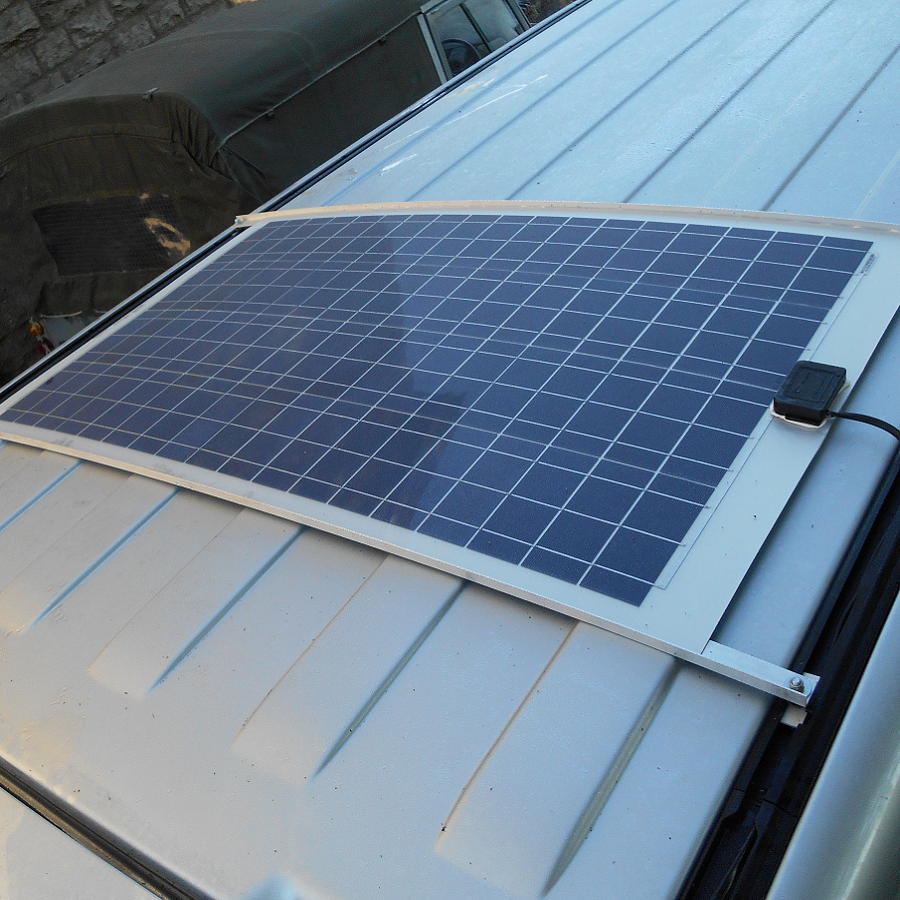 Solar Camper Solutions Vw T5 T6 Bolt On Solar Kit